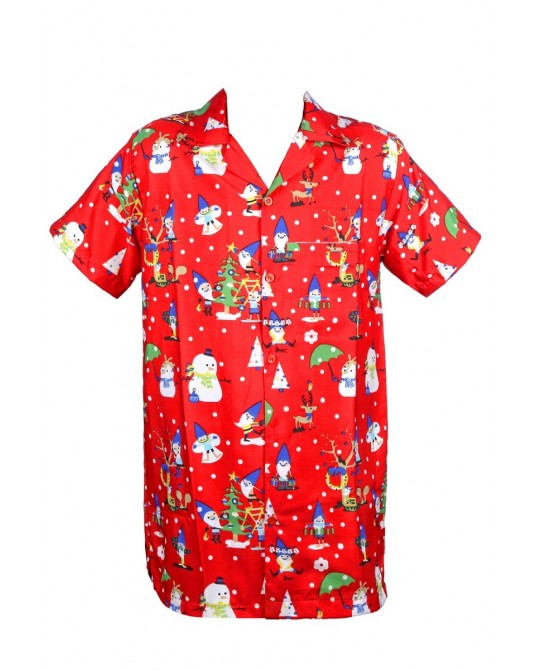 Red Clone Santa Hawaiian Shirt