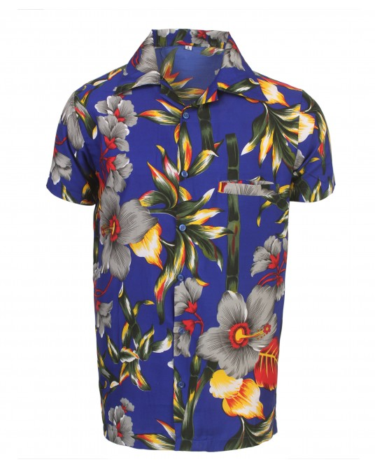 Blue Stem Hawaiian Shirt