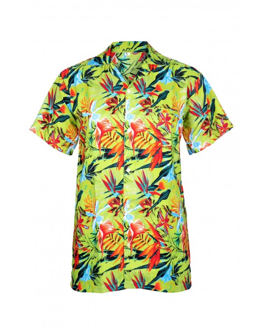 Green (Bunch Of Flowers) BOF Hawaiian Shirt