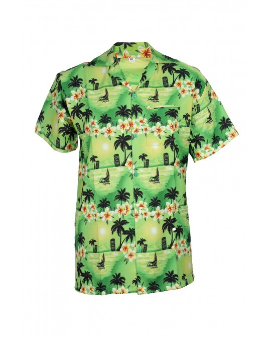 Green Bliss Hawaiian Shirt