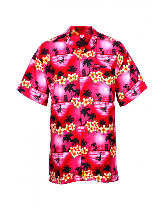 Pink Bliss Hawaiian Shirt