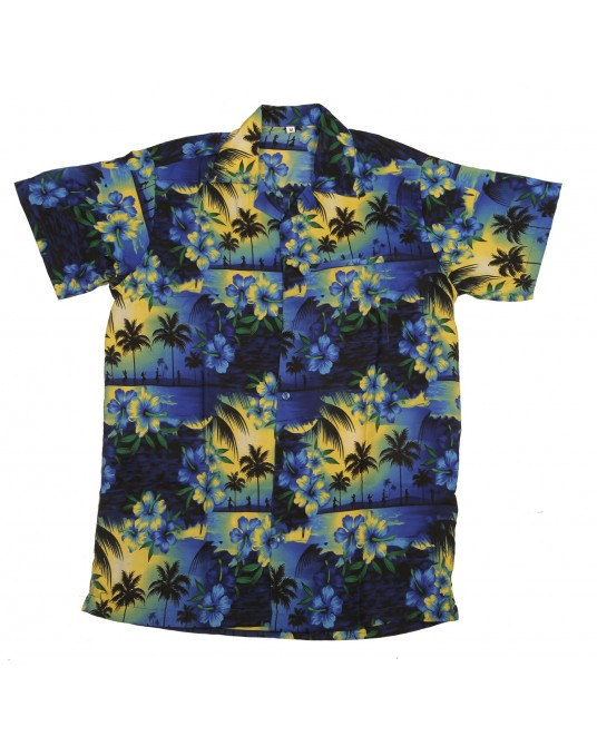 Blue Paradise Hawaiian Shirt