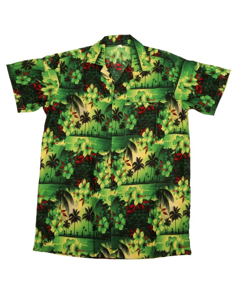 Green Paradise Hawaiian Shirt