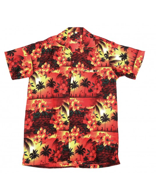 Red Paradise Hawaiian Shirt